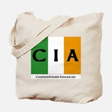 Certified Irish American Tote Bag