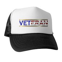 Veteran Stars & Stripes Trucker Hat