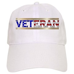 Veteran Stars & Stripes Baseball Cap