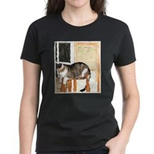 Cat Digitally Manipulated Pho Tee