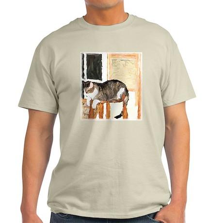 Cat Digitally Manipulated Pho Light T-Shirt