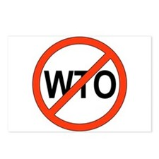 Say No to WTO Postcards (Package of 8)