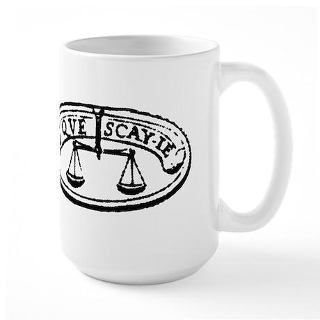 What Do I Know Large Mug