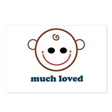 Much Loved Baby Face Postcards (Package of 8)