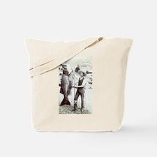 19th C. Fisherman Tote Bag