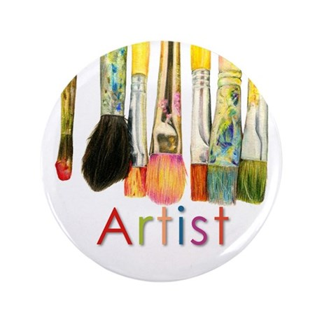"""ACEO Art 3.5"""" Button (100 pack)"""