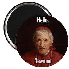 """Hello Cardinal Newman 2.25"""" Magnet (100 pack)"""