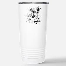 Black Bad Bunny Travel Mug