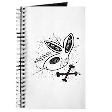 Black Bad Bunny Journal