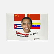 Communist in Chief Rectangle Magnet