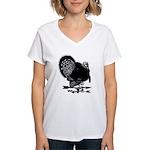 Turkey Weathervane Women's V-Neck T-Shirt
