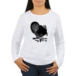 Turkey Weathervane Women's Long Sleeve T-Shirt