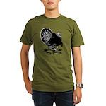 Turkey Weathervane Organic Men's T-Shirt (dark)