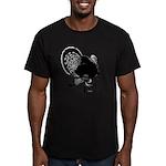 Turkey Weathervane Men's Fitted T-Shirt (dark)