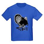 Turkey Weathervane Kids Dark T-Shirt