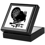 Turkey Weathervane Keepsake Box