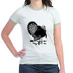 Turkey Weathervane Jr. Ringer T-Shirt