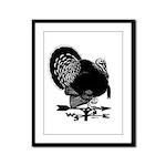 Turkey Weathervane Framed Panel Print