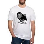 Turkey Weathervane Fitted T-Shirt