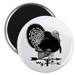 "Turkey Weathervane 2.25"" Magnet (100 pack)"