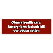 Obama Conspiracy Haiku Bumper Bumper Sticker