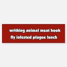 Animal Cruelty Vegetarian Bumper Bumper Bumper Sticker
