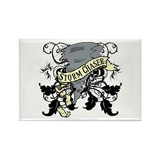 Storm Chasers Banner Rectangle Magnet