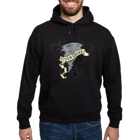 Storm Chasers Banner Hoodie (dark)