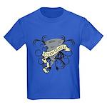 Storm Chasers Banner Kids Dark T-Shirt