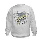 Storm Chasers Banner Kids Sweatshirt