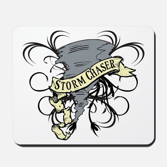 Storm Chasers Banner Mousepad