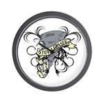 Storm Chasers Banner Wall Clock