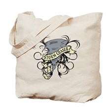 Storm Chasers Banner Tote Bag