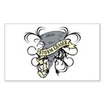 Storm Chasers Banner Rectangle Sticker