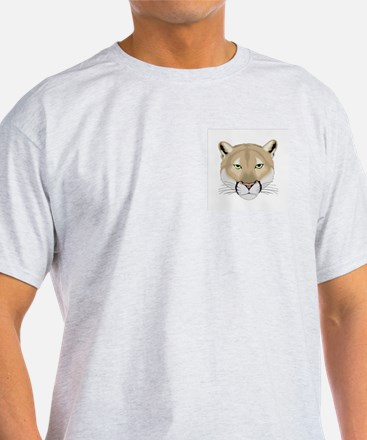 Beautiful Cougar Ash Grey T-Shirt