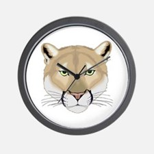 Beautiful Cougar Wall Clock