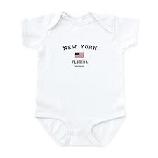 New York (FL) Florida T-Shirt Infant Bodysuit
