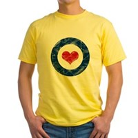 Air Force Love Yellow T-Shirt