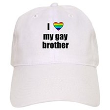 I Love My Gay Brother Baseball Cap