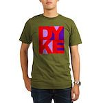 DYKE Organic Men's T-Shirt (dark)