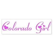 Colorado Girl Bumper Bumper Sticker