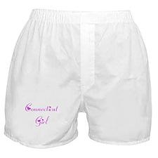 Connecticut Girl Boxer Shorts