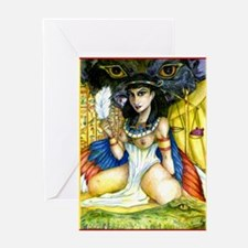 Cute Belly dancer Greeting Card