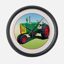 Cute Farm tractor Large Wall Clock