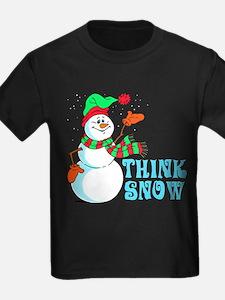 Festive Cartoon Snowman T