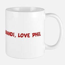 Happy Birth-Day Brandi, Love Mug