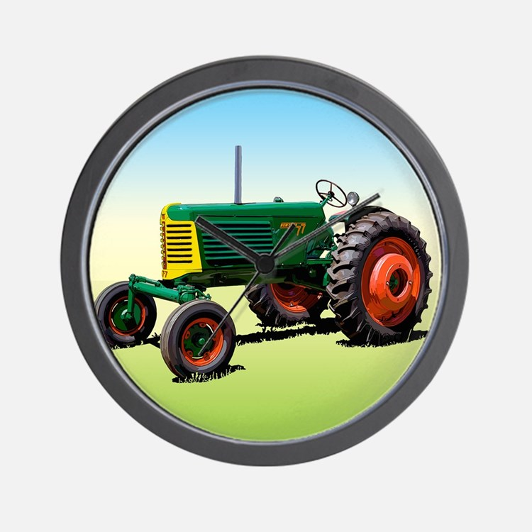 Cute Farmers tractor Wall Clock