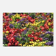 Helaine's Confetti Flowers Postcards (Package of 8