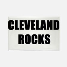 Cute Cleveland rocks Rectangle Magnet (10 pack)