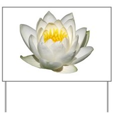 Helaine's Water Lilies Yard Sign